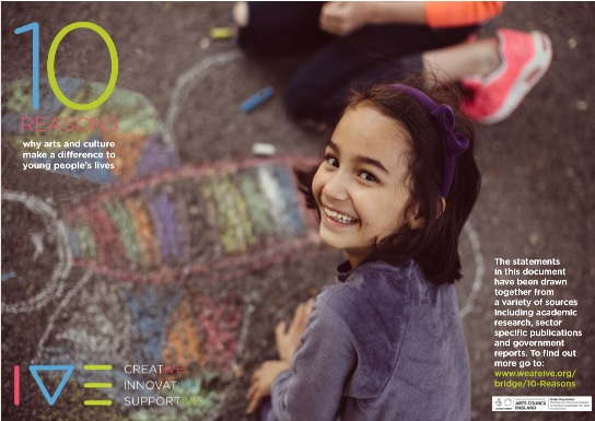 1create - artsmark 10 reasons why arts and culture make a difference to young peoples lives