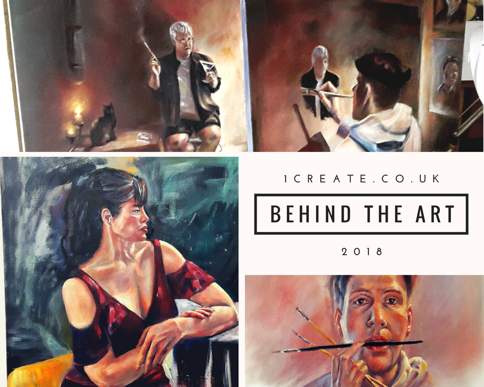 Behind the Art 2018 - Fabrice Clarou header