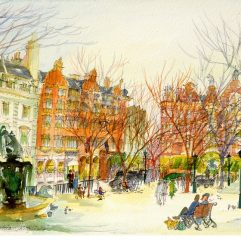 1create - 17 Sloane Square by Patricia Thompson Fine Art