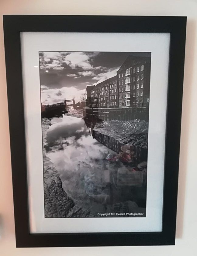 1create - framed print example