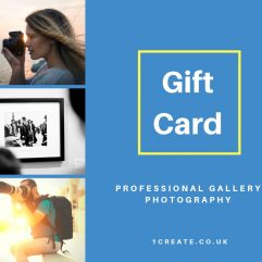 1create Gift Card - Professional Photograpy Gallery