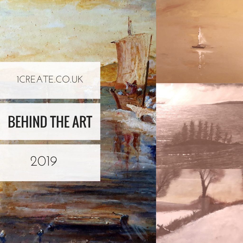 1create - Mark Noble Behind the Art 2019 1st Edition