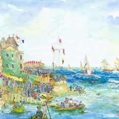 1create - 01 Cowes Regatta by Patricia Thompson