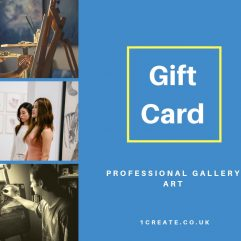 1create Gift Card - Professional Art Gallery