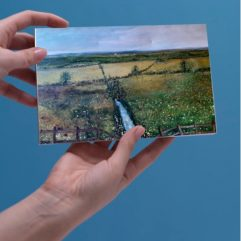1create - greeting card Somerset in Summer by Mark Noble