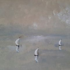 1create - Boats in Mist by Mark Noble