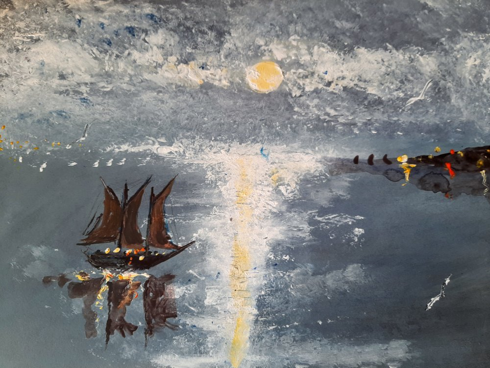 1create - Dutch Figure by Moonlight by Mark Noble