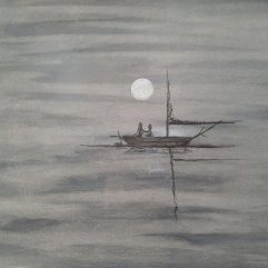 1create - Sailing Boat in Serenity by Mark Noble