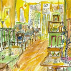 1create - Tea Room by Patricia Thompson