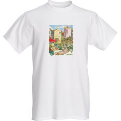 1create - t - shirt - tea-room-garden