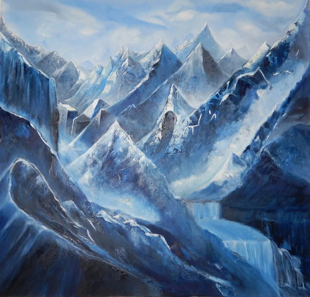 1create - Blue Mountains by Buvana Viswanathan