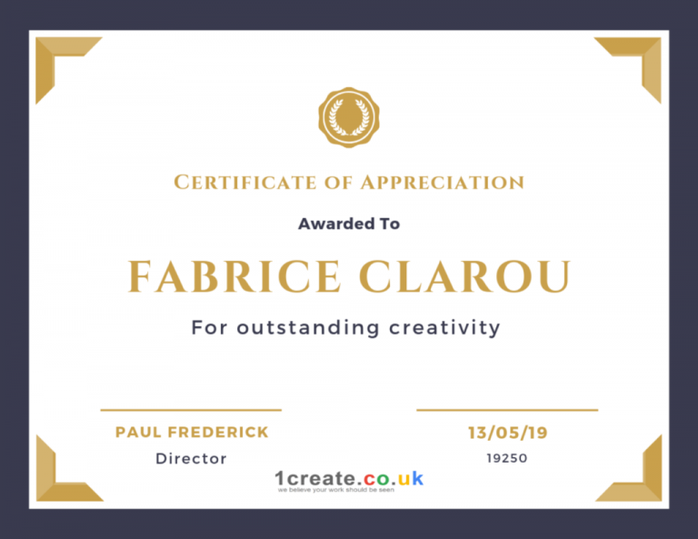 1create-Fabrice-Clarou-Certificate-of-Appreciation