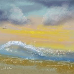 1create - Seascape by Cheryl Alexander